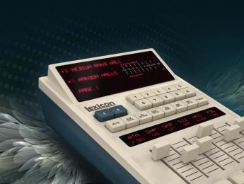 Universal Audio UAD Software 9.7 incluye la reverb Lexicon 480L
