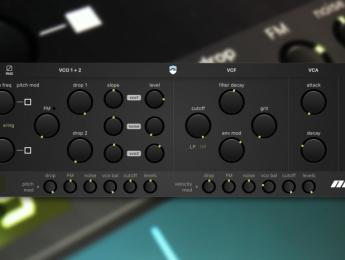 Noir es el nuevo sinte de Ruismaker, y combina sonidos de batería y bajo
