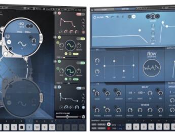 Waves Flow Motion FM Synth incluye un secuenciador de sonidos