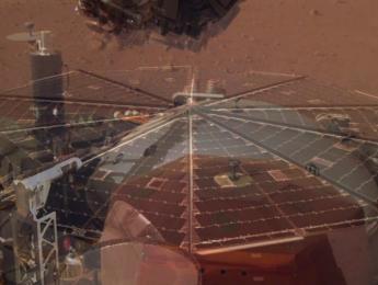 La NASA publica sus primeras grabaciones de sonido en Marte