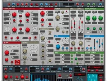 Propellerhead Complex-1, un sintetizador modular clásico dentro de Reason