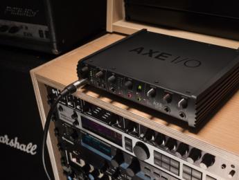 IK Multimedia Axe I/O, nueva interfaz de audio potenciada para guitarras