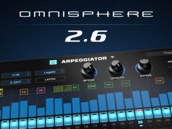Spectrasonics Omnisphere 2.6 llega con nuevo arpegiador e integración expandida de sintes hardware