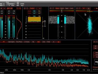 SPL HawEye, análisis de audio y monitoreo visual en alta resolución