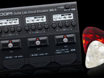 Zoom GCE-3, interfaz de audio y simulación de amplis para guitarra en la palma de la mano