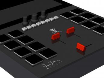 El Invader DJ Mixer de Thud Rumble no necesita ordenador porque lo lleva dentro