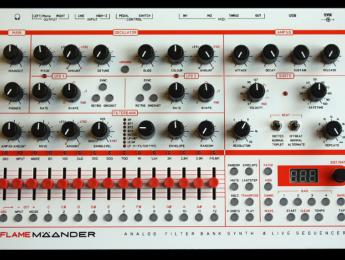 Flame Mäander, nuevo sinte de oscilador digital y amplio filtro analógico