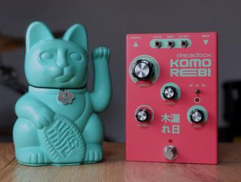 Dreadbox Komorebi, un chorus y flanger analógico con hardware BBD