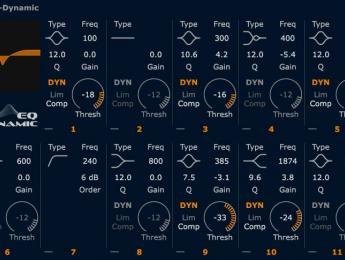 HOFA Plugins System EQ-Dynamic, nuevo ecualizador dinámico con analizador integrado