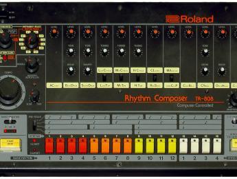 Roland busca proteger los diseños de las clásicas TR-808 y TB-303