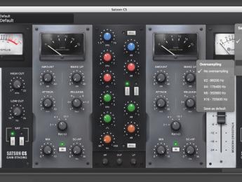 Sonimus Satson Channel Strip, un rack virtual para mezcla modelado de equipo analógico