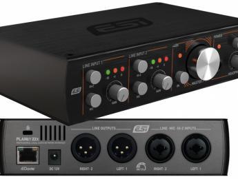 ESI planet 22x, interfaz audio sobre IP por Ethernet con Dante