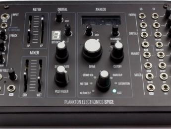 Plankton Spice, una caja de distorsión semi-modular que combina procesos digitales y analógicos