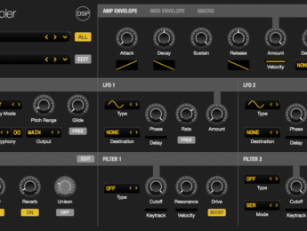 Bliss sampler 1.5 muestrea tus instrumentos VST y AU automáticamente