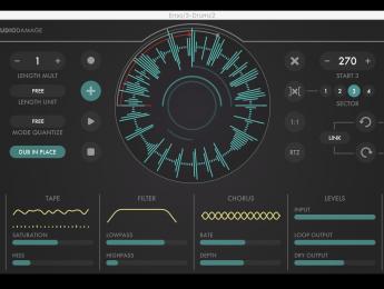 Enso, el nuevo plugin looper de Audio Damage que combina métodos de cinta y modernos