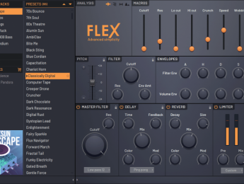 """Flex, nuevo instrumento de Image-Line dedicado a """"síntesis avanzada"""""""