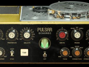 Pulsar Echorec, versión virtual del legendario delay creado por Binson en los 70s