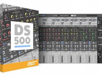 Drum Synth 500, sinte de baterías creado entre AIR, Akai y Alesis