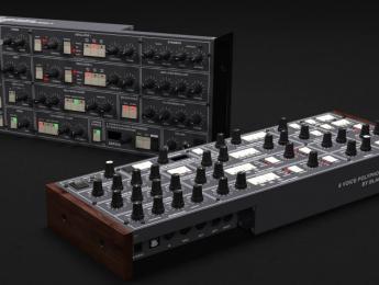 Black Corporation Xerxes, nuevo sinte polifónico basado en el Elka Synthex