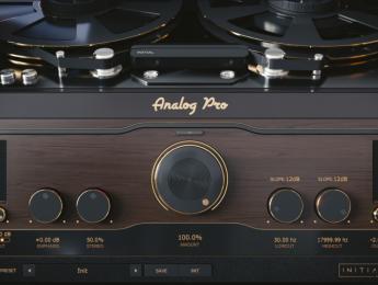 Initial Audio Analog Pro, calor de cinta, válvulas y vinilos con un mismo plugin