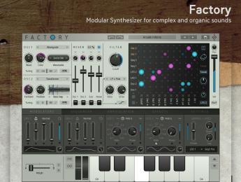 Sugar Bytes lleva su sinte modular virtual Factory al iPad