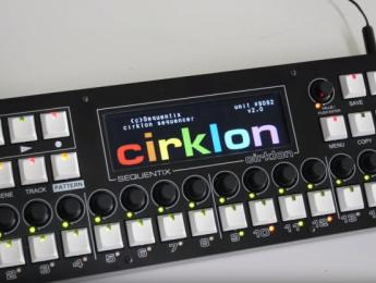 Sequentix Cirklon alcanza la segunda versión, ahora más rápido, a color y con USB