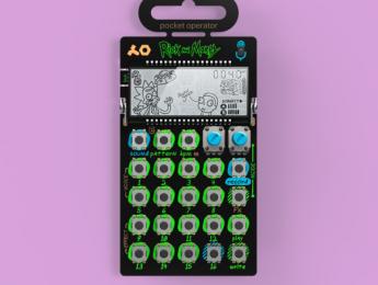 Teenage Engineering Pocket Operator 137, edición especial de Rick & Morty