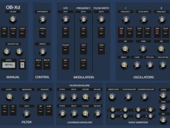 DiscoDSP OB-Xd, un Oberheim recreado ahora también en iOS