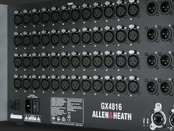 Allen & Heath GX4816, un mastodóntico stagebox digital a 96kHz