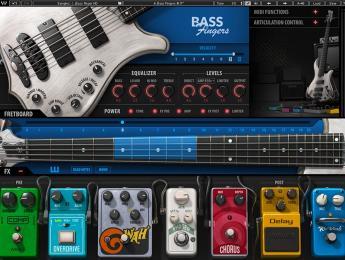 Waves Bass Fingers, un bajo eléctrico virtual con sistema de interpretación inteligente