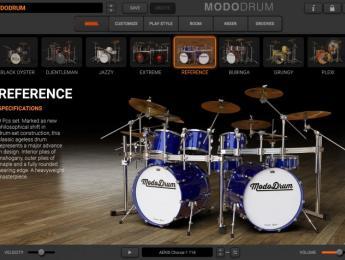 IK Multimedia Modo Drum, 10 baterías virtuales que combinan muestras y modelado físico
