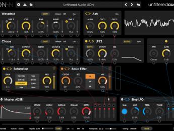 Unfiltered Audio Lion, nuevo sinte basado en multi-efectos y diseño sonoro modular
