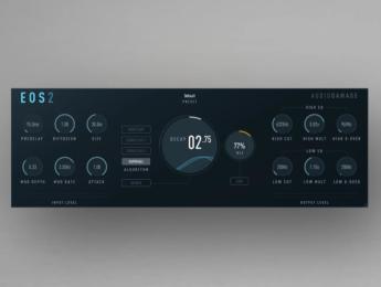 Audio Damage celebra 10 años de la reverb Eos con su segunda versión