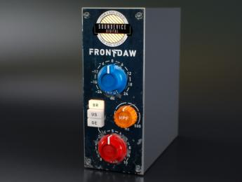 Front DAW, plugin gratis para dar calor de mesa analógica a cada canal del DAW
