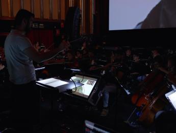 Una banda sonora sincronizada en directo: 'Sordo', de Carlos Martín Jara