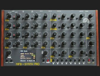 MFB-Synth Pro da paso a la polifonía multitímbrica