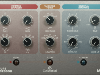 Acustica Audio regala el plugin Celestial, su nuevo channel strip
