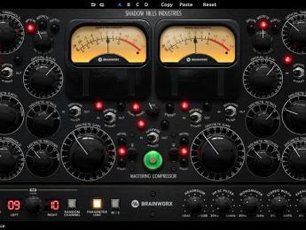 Brainworx recrea en plugin el Shadow Hills Mastering Compressor Class A de edición limitada