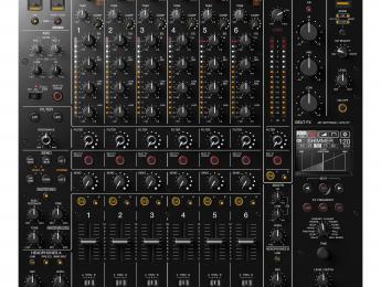 Pioneer DJM-V10, nuevo mixer para DJ de 6 canales