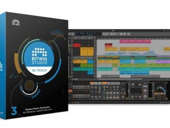 Bitwig Studio 16-Track, nueva versión reducida del DAW modular