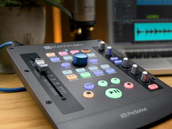 PreSonus ioStation 24c, combinación de controlador de DAW FaderPort e interfaz de dos canales