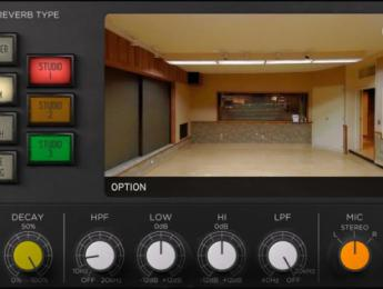 IK Multimedia samplea los espacios de Sunset Studios en una reverb virtual