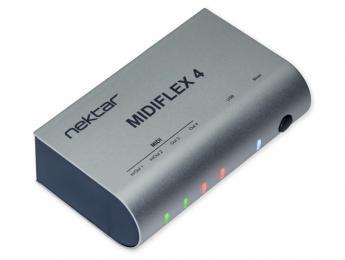 Más Nektar: Interfaz MIDIFlex4 y teclado controlador GXP88