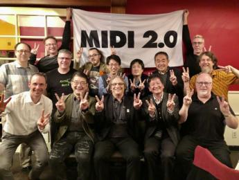 MIDI 2.0 al completo, adoptado por la MMA en la reunión del NAMM 2020