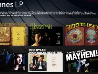 Apple libera los formatos iTunes LP e iTunes Extras