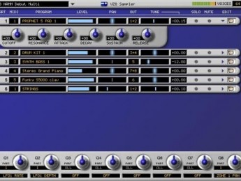 Un sampler AKAI Z8 virtual