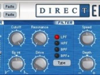 DirectEMX, editor VST para Korg Electribe MX