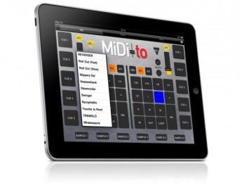 MIDI-to, controlando Scratch Live desde el iPad