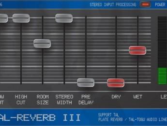 Togu Audio Line lanza TAL-Reverb-III