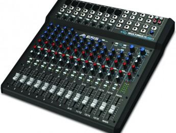 Nueva mesa MultiMix 16 USB FX de Alesis